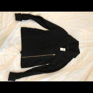 Gap zip cardigan